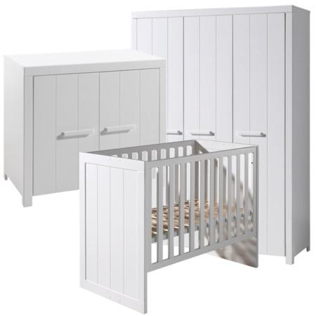 Vipack Erik 3-delige babykamer met 3-deurskast