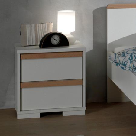 Vipack London nachtkastje wit sfeer