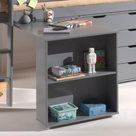 Vipack bureau voor halfhoogslaper grijs sfeer