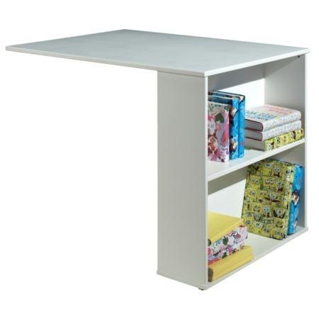 Vipack bureau voor halfhoogslaper wit