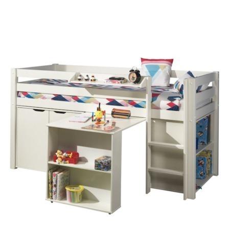 Vipack bureau voor halfhoogslaper wit sfeer