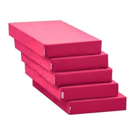 Hoppekids 5 delige kussenset voor Lounge module Pink
