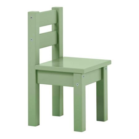 Hoppekids Mads stoeltje Pale green