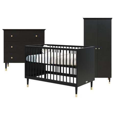 Bopita Cloe 3-delige babykamer met 2-deurskast