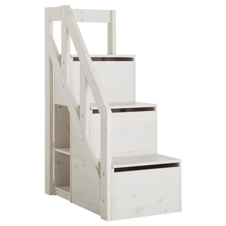 Lifetime trapkast voor halfhoogslaper whitewash