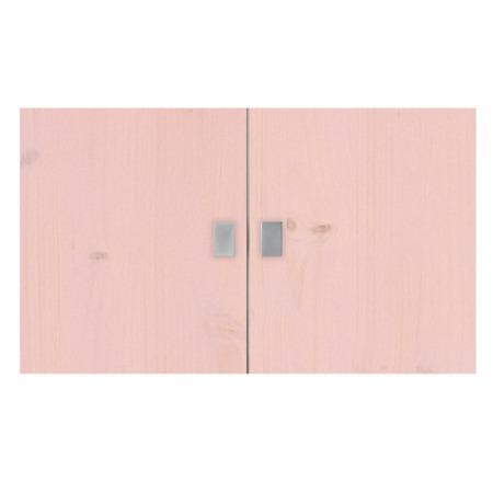 Lifetime set deurtjes boekenkast pink