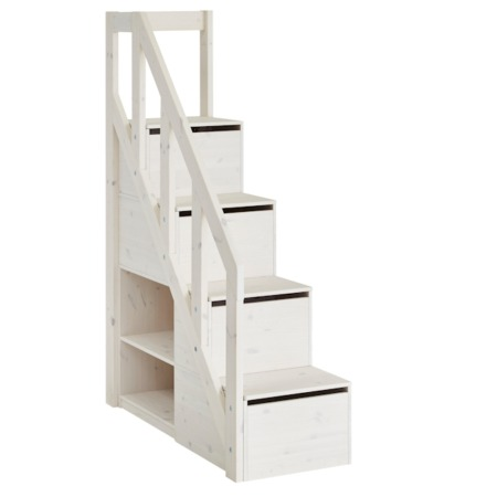 Lifetime trapkast voor hoogslaper XL whitewash