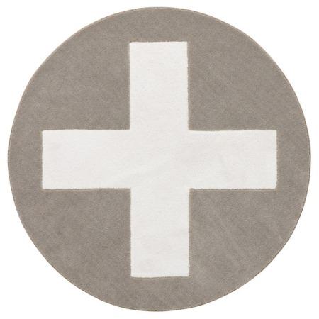 Lifetime vloerkleed Grey X