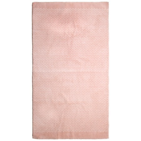 Lifetime vloerkleed Zigzag roze