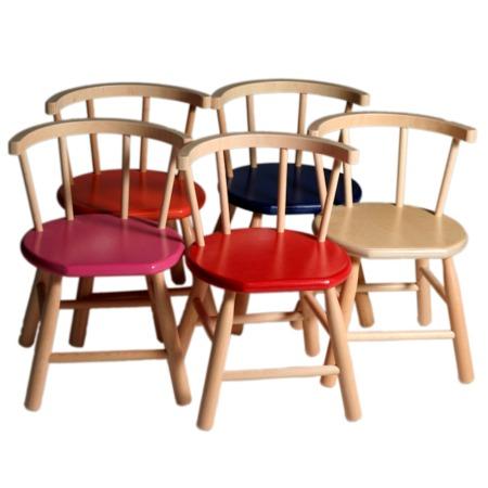 Van Dijk Toys gebogen stoeltjes
