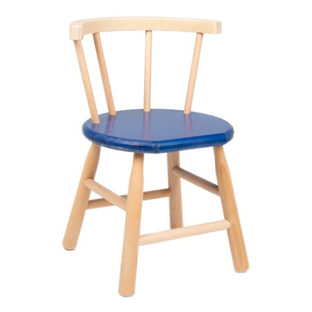Van Dijk Toys stoeltje blauw 1491
