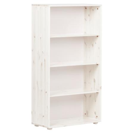 Flexa Classic boekenkast 3 planken Whitewash