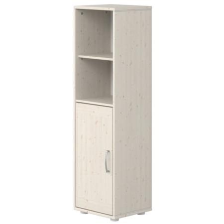 Flexa kast met deur en 2 planken whitewash