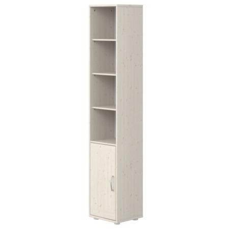 Flexa kast met deur en 3 planken whitewash