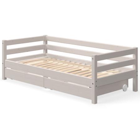 Flexa single bed grey met lades