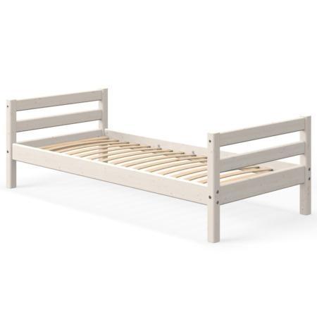 Flexa single bed whitewash