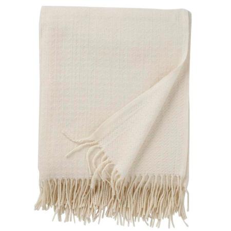 Klippan premium plaid Himalaya white