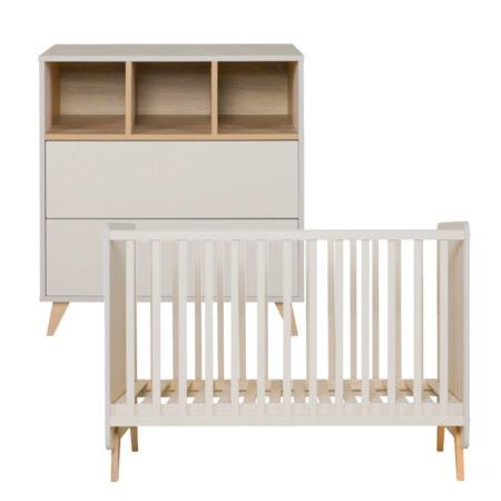 Quax 2-delige babykamer Loft Clay
