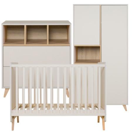 Quax 3-delige babykamer Loft Clay