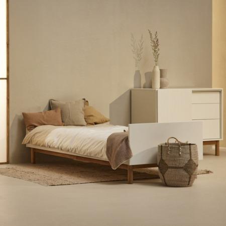 Quax bed 90x200 Mood White sfeer