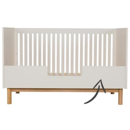 Quax ledikant Mood Clay 70x140 bedrail