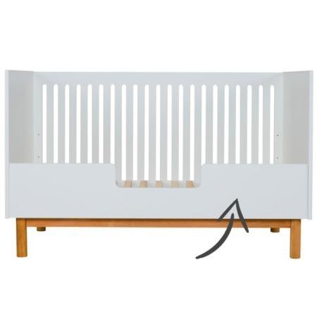 Quax ledikant Mood White 70x140 bedrail